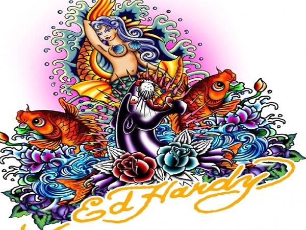 Klicken Sie auf die Grafik für eine größere Ansicht  Name:Ed Hardy Meerjungfrau Wallpaper.jpg Hits:18094 Größe:591,5 KB ID:19358