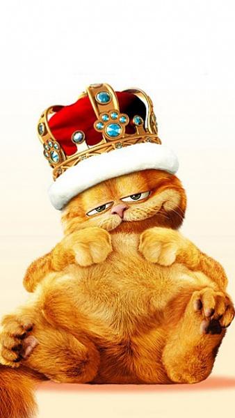Klicken Sie auf die Grafik für eine größere Ansicht  Name:King Garfield.jpg Hits:416 Größe:72,6 KB ID:22957