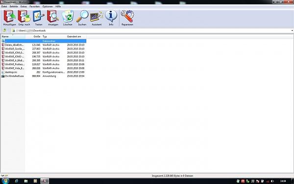 Klicken Sie auf die Grafik für eine größere Ansicht  Name:WinRar  XPTheme Preview.jpg Hits:172 Größe:222,9 KB ID:37082