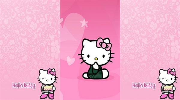 Klicken Sie auf die Grafik für eine größere Ansicht  Name:Hello Kitty  3in1 Wallpaper (2).jpg Hits:1029 Größe:166,7 KB ID:40090
