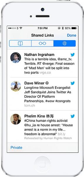 Klicken Sie auf die Grafik für eine größere Ansicht  Name:ios7-funktion-twitter-shared-links-reading-share-links.jpg Hits:235 Größe:114,0 KB ID:50111