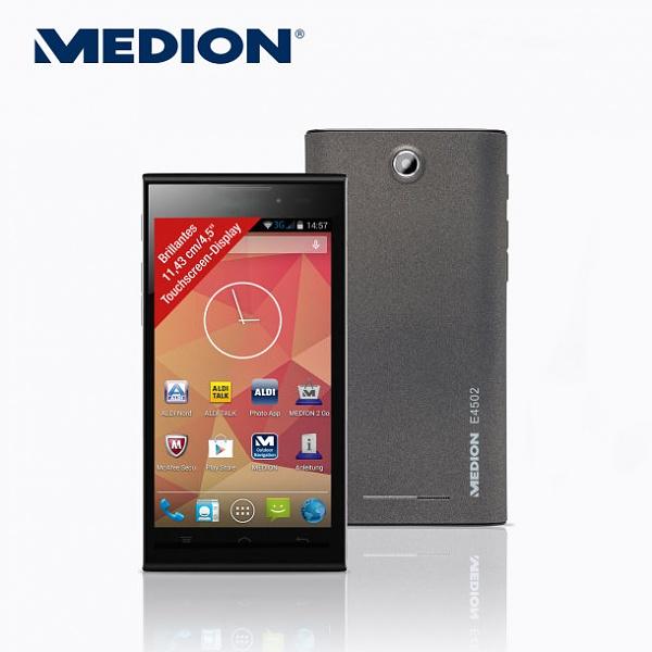 Klicken Sie auf die Grafik für eine größere Ansicht  Name:Aldi-smartphone-Medion Life E4502.jpg Hits:297 Größe:47,5 KB ID:51064