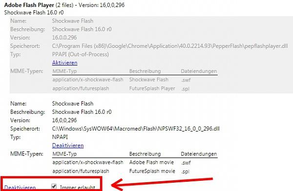 Klicken Sie auf die Grafik für eine größere Ansicht  Name:chrome-browser-plug-in-zulassen.jpg Hits:107 Größe:124,3 KB ID:51258