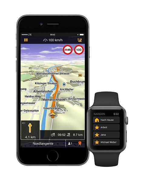 Klicken Sie auf die Grafik für eine größere Ansicht  Name:Navigon-ios-app-for-apple-watch.jpg Hits:108 Größe:258,8 KB ID:51533