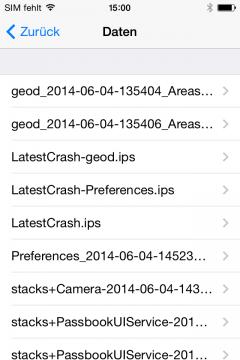 Klicken Sie auf die Grafik für eine größere Ansicht  Name:ios-crash-log-dateien.png Hits:2969 Größe:20,3 KB ID:51535