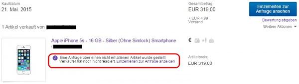 Klicken Sie auf die Grafik für eine größere Ansicht  Name:ebay-iphone-betrug.jpg Hits:284 Größe:61,8 KB ID:51636