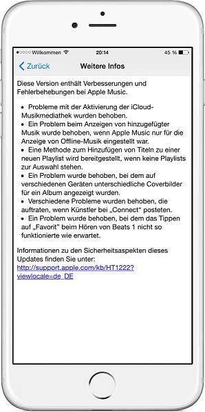 Klicken Sie auf die Grafik für eine größere Ansicht  Name:iOS-8.4.1-Music-Bugs-and-jailbreak-closed.png Hits:64 Größe:111,0 KB ID:51835