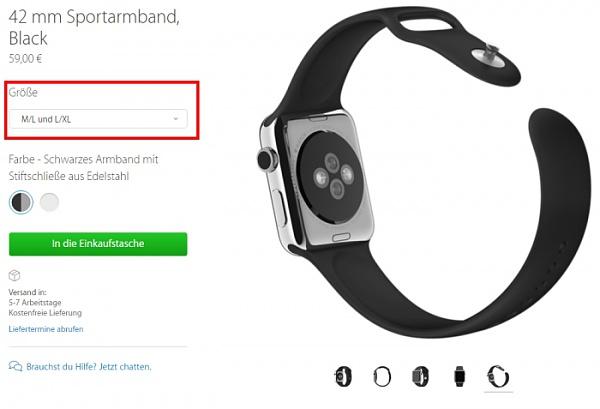 Klicken Sie auf die Grafik für eine größere Ansicht  Name:apple-watch-große-armbaänder-L-XL.jpg Hits:150 Größe:89,6 KB ID:51840
