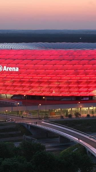 Klicken Sie auf die Grafik für eine größere Ansicht  Name:Allianz Arena Bayern München Wallpaper.jpg Hits:1921 Größe:193,7 KB ID:51860