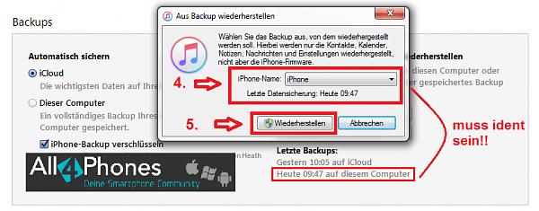 Klicken Sie auf die Grafik für eine größere Ansicht  Name:itunes-iphone-backup-wiederherstellen.png Hits:85 Größe:44,8 KB ID:52246
