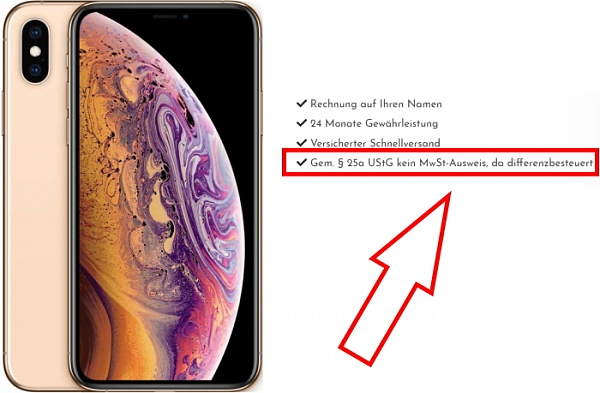 Klicken Sie auf die Grafik für eine größere Ansicht  Name:Differenzbesteuerung-Handy-nach-§-25a-ustg.jpg Hits:9 Größe:173,1 KB ID:55657