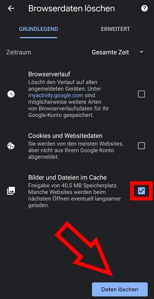 Klicken Sie auf die Grafik für eine größere Ansicht  Name:cache-löschen-im-handy-browser-google-chrome.jpg Hits:3 Größe:125,2 KB ID:56289