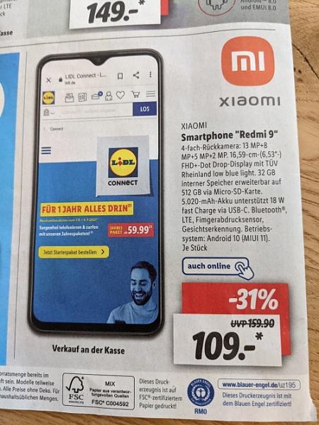 Klicken Sie auf die Grafik für eine größere Ansicht  Name:xiaomi-redmi-9-smartphone-lidl-handy-angebot.jpg Hits:12 Größe:331,3 KB ID:56331