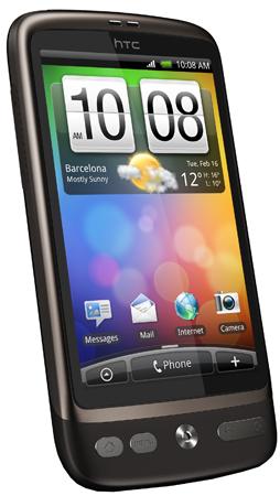 HTC Desire nun bei T-Mobile erhältlich