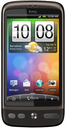 HTC Desire nun auch bei O2 erh�ltlich