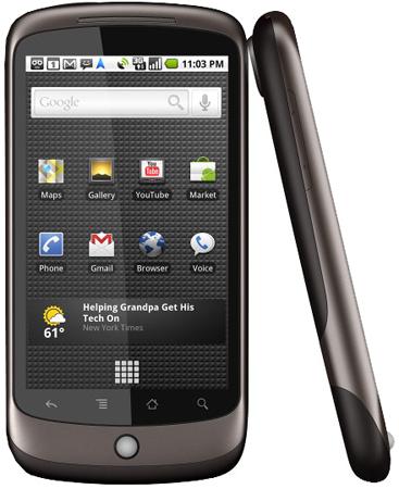 Google Nexus One ab dem 24. Mai bei Vodafone erhältlich