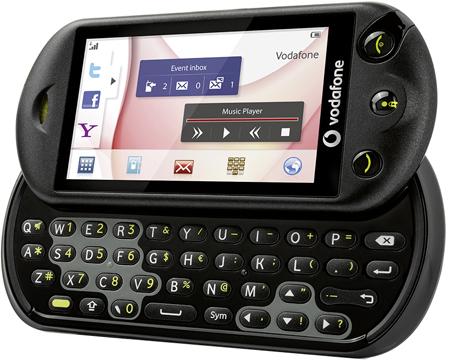 Vodafone 553 mit QWERTZ Tastatur
