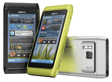 Nokia N8 bei O2 ohne Vertrag für 469 Euro erhältlich