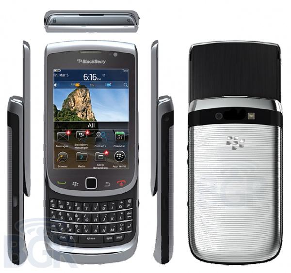 BlackBerry Torch 2 mit 1,2 GHz und OS 6.1