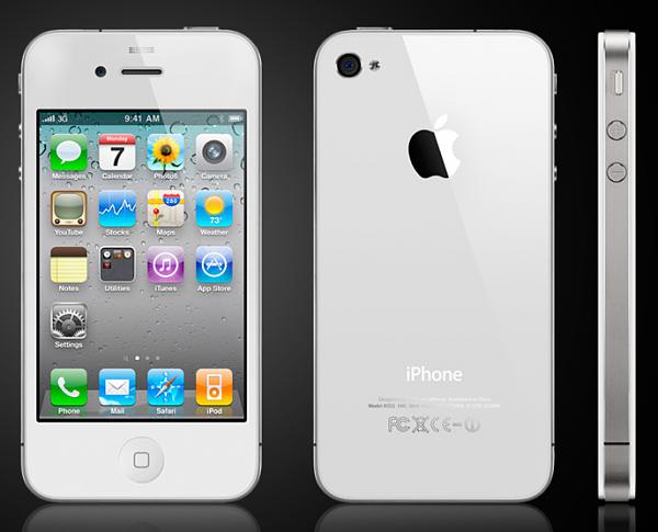 ENDLICH: Weißes iPhone 4 bei Vodafone