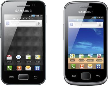 Vier neue Samsung Galaxy Smartphones