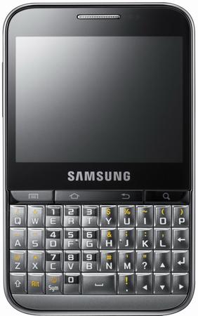 Samsung Galaxy Pro mit Android 2.2 und QWERTZ-Tastatur vorgestellt