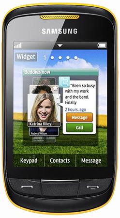 Samsung S3850 Corby 2 ab Ende März erhältlich