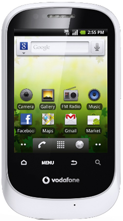 Vodafone 858 Smart: Android Smartphone für 90 Euro