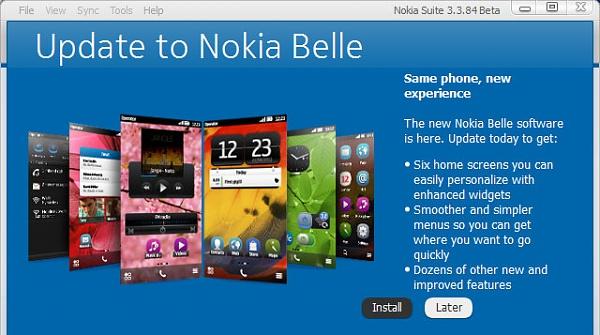 Nokia startet mit der Ausliefung des Belle Updates