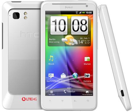 HTC Velocity 4G: Erstes LTE Smartphone von Vodafone (Deutschland) vorgestellt