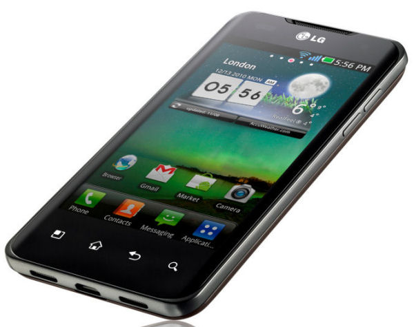 LG P990 OPTIMUS Speed mit 1&1 Branding erhält Bug-Fix Update