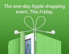 Apple k�ndigt Black Friday an