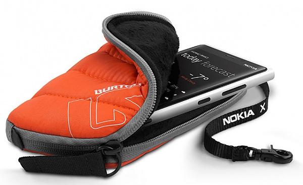 Nokia X Burton Case - Jetzt kostenlos abstauben!