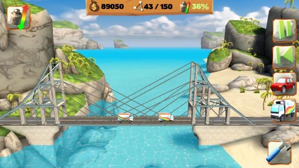 Bridge Constructor Playground ab sofort für Android verfügbar!