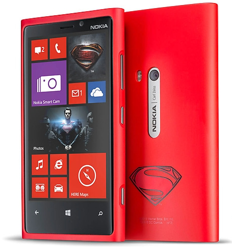 Kostenlos - Man of Steel Cover für Nokia Lumia 920