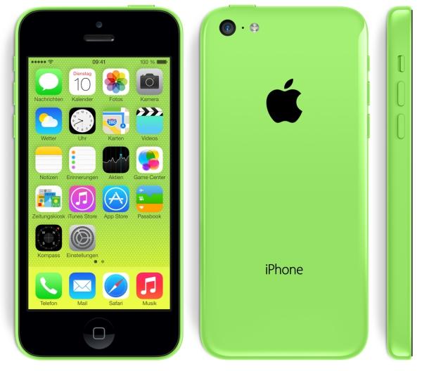 iPhone 5C vorbestellen und kaufen
