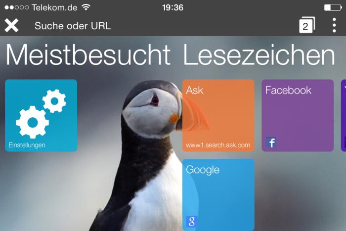 Puffin Web Browser: Schnelles Surfen auf dem iPhone und Android Smartphone