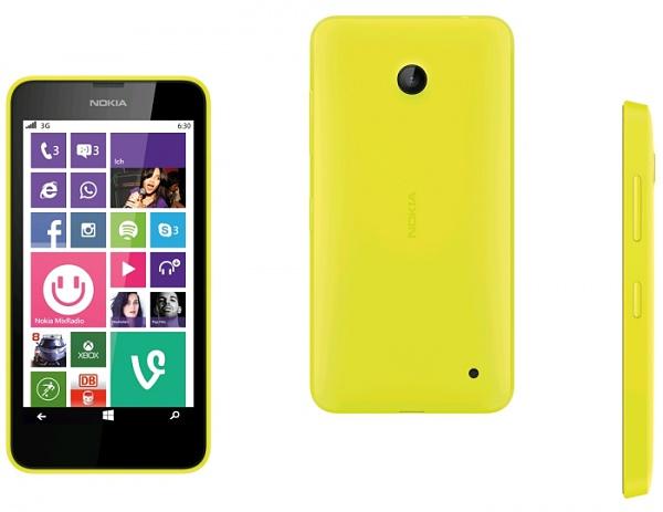 Schnäppchen: Nokia Lumia 630 für 109.- € bei Saturn und Media Markt
