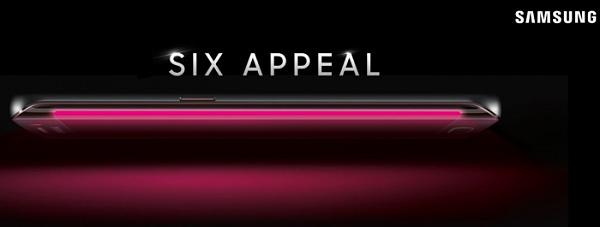 Six Appeal: Das neue Galaxy S6 Edge wird von T-Mobile enthüllt