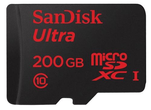 200 GB Speicherplatz mit der größten microSD-Karte der Welt