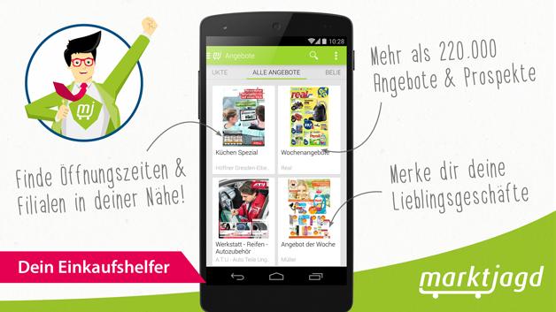 Marktjagd App: Dein mobiler Einkaufshelfer f�r das Smartphone