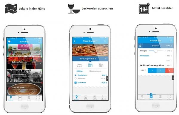 Opentabs App: Über das Smartphone Essen bestellen, zahlen und nur noch abholen