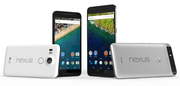 Nexus 5X und Nexus 6P: Datenblatt, Preise und Release der beiden Google-Smartphones