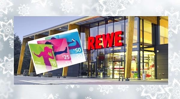 REWE: 20% Rabatt auf iTunes Karten sparen (bis 5.12)