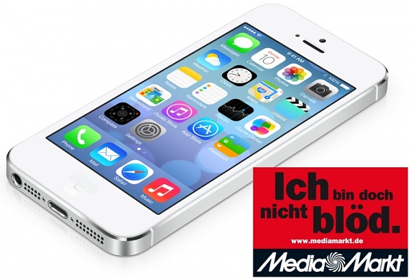 Preiskrieg: iPhone 5s jetzt bei Media Markt f�r 389.- Euro