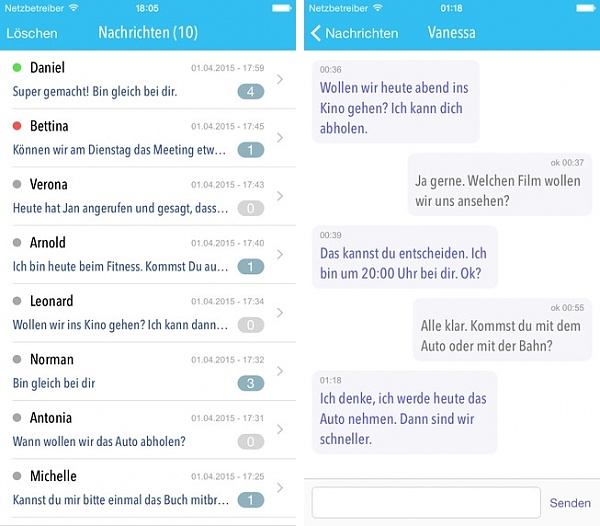 Web2Push Messenger App: Alternative zu WhatsApp & Co.?