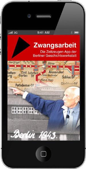 Mit der Zeitzeugen-App der Berliner Geschichtswerkstatt der Geschichte auf der Spur