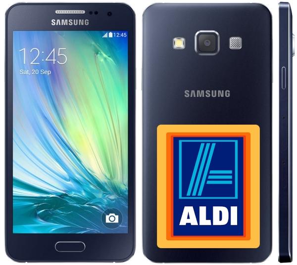 Samsung Galaxy A3 bei Aldi: G�nstiger geht es derzeit nicht!