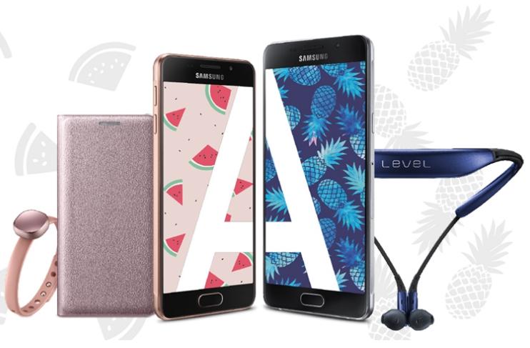 Samsung Sommerbox Aktion: Galaxy A3 oder Galaxy A5 kaufen und Gratis Fitness-Accessoire erhalten