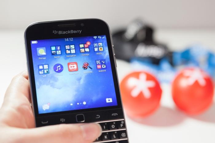 Blackberry hat verk�ndet keine Smartphones mehr zu bauen